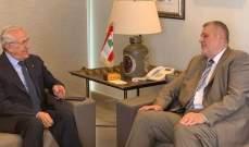 سليمان التقى كوبيش: نرحب بالحرص الدولي على الاستقرار في لبنان