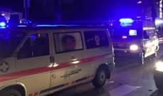 الدفاع المدني: جريحان اثر حادث صدم  في الرملة البيضاء