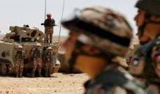 الجيش الأردني أعلن إحباط عملية تهريب كمية كبيرة من المخدرات عند حدوده الشرقية