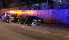 الدفاع المدني: قتيل جراء حادث صدم بمحاذاة الأوتوستراد في زوق مصبح