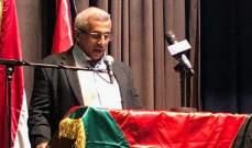 """سعد: الشعب الفلسطيني نجح في نصر غزة بتوجيه ضربة قاسية إلى """"صفقة العصر"""""""