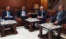 وفد من اللجنة البرلمانية اللبنانية الارمنية زارت سفير ارمينيا وبحثت معه سبل التعاون