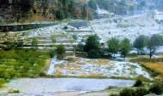 النشرة: السيول الناتجة عن غزارة الأمطار دخلت الى المنازل في بلدة نحلة