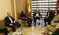 """قيادة منطقة بيروت في حزب الله التقت وفداً من قيادة بيروت في """"الشيوعي"""""""