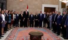 الرئيس عون: دوري كرئيس للجمهورية المحافظة على الدستور والقوانين