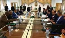 الجهيناوي: لدى تونس والسودان وجهة النظر عينها حول سبل حل قضايا الإقليم