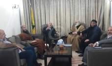 النشرة: وفد من القوى الإسلامية بعين الحلوة يلتقي مسؤول الملف الفلسطيني بحزب الله