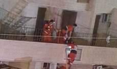 النشرة: إخماد حريق شب في محل لبيع الاقمشة بصيدا