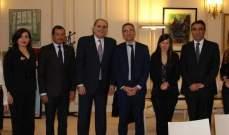 جريصاتي اختتم زيارته الى باريس  بلقاء في الايليزيه مع مستشاري ماكرون