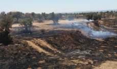 الدفاع المدني:إخماد 4 حرائق أعشاب في مجدليا والمعلقة وحوش الأمرا والنخلة