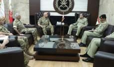 قائد الجيش التقى نائب رئيس هيئة الأركان المشتركة الباكستانية