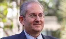 شماس: لبنان في حاجة إلى 7 مليار دولار سنويا لتمويل احتياجاته