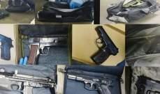 قوى الأمن: توقيف شخص في المروج قتل صديقه غدرا بدافع سرقة كمية من الأسلحة الحربية