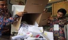سلطات إندونيسيا: موظفو اللجان الانتخابية ماتوا بالجلطة الدماغية والسكتة القلبية