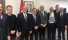 اجتماع بين بطيش ومراد مع سفير تركيا للبحث بملف تصدير الخردة