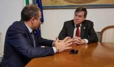 باسيل التقى وزير التعاون البريطاني وساترفيلد ونظيره القبرصي في روما