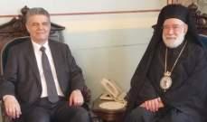 مجدلاني زار عوده مهنئا بالترخيص لجامعة القديس جاورجيوس