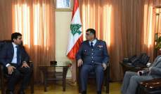 اللواء عثمان التقى سفير السعودية وعرض معه الاوضاع العامة