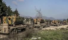 الأناضول: تعزيزات من القوات الخاصة التركية تصل حدود سوريا