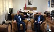 كيدانيان عرض مع مايلز سبل تسهيل مجيء السياح الاوستراليين الى لبنان
