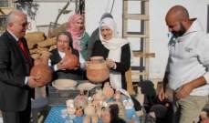 الحريري تفقدت أعمال التنقيب في حفرية ثانوية راهبات مار يوسف الظهور