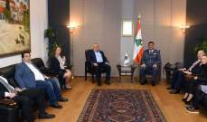 اللواء عثمان استقبل رئيس مجلس الأعمال اللبناني البلغاري