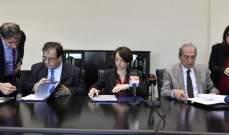 توقيع  اتفاقيتي قرض وهبة بين مجلس الإنماء والإعمار والوكالة الفرنسية للتنمية