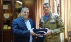 قائد القطاع الغربي لليونيفيل زار اتحاد بلديات بنت جبيل