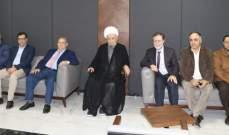 عبد الأمير قبلان جال على أقسام مستشفى الزهراء الجامعي