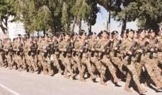 الأنباء: إنخراط الإناث في الجيش اللبناني خيار يرقى الى المستوى الاستراتيجي