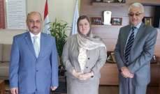 رئيسة الجامعة الإسلامية استقبلت المستشار الثقافي الجديد للسفارة العراقية