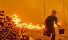 اشتعال حرائق الغابات في ولاية كاليفورنيا بأميركا