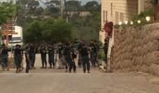 """""""صوت لبنان"""": القوى الأمنية أقفلت الطرق المؤدية إلى كنيسة سانت تريز بالمنصورية"""