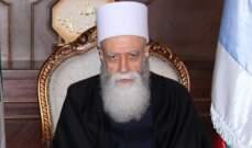 الشيخ حسن اتصل بزاسبيكين شاكرا دور روسيا وجهدها بتحرير مخطوفي السويداء
