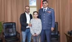 عثمان استقبل زياد عيتاني الذي شكر الأمن الداخلي على كشف ملابسات قضيته