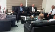 زعيتر تابع التحضير ليوم المنتجات الزراعية اللبنانية في هنغاريا والتقى جارالله