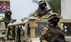 الجزيرة: مقتل جنديين وجرح 6 من الجيش المصري بهجومين غرب رفح وجنوب الشيخ زويد