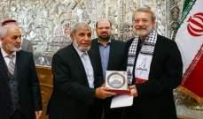 لاريجاني: يجب إيصال الأعمال الإجرامية الإسرائيلية إلى أسماع العالم أجمع