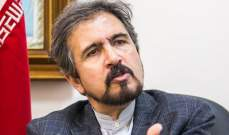 قاسمي: كندا ليس لديها الاستعداد لاستئناف العلاقات مع ايران