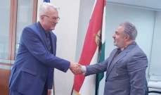 عميد الخارجية في القومي التقى سفير المجر في لبنان