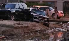 وفاة شخص في الكويت جرفته السيول وإعلان حال الطوارئ بعدة وزارات بسبب سوء الأحوال الجوية