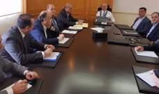 فنيانوس يؤكد تنفيذ الاجراءات لتوسعة مطار رفيق الحريري الدولي