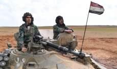 """الجيش السوري يكبد """"جبهة النصرة"""" خسائر كبيرة في الأفراد والعتاد"""
