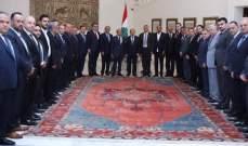 الرئيس عون اطلع على أوضاع قطاع البناء خلال استقباله تجار الأبنية في لبنان