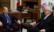 الرئيس عون استقبل الأعور والسفير الالماني