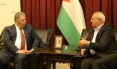 دبور التقى نائب الامين العام للجبهة الشعبية لتحرير فلسطين