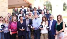 المكتب الإعلامي للمجلس العالمي للتسامح والسلام يُكرِّم الاعلاميين
