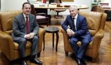 كيدانيان عرض تعزيز التعاون السياحي مع السفير الارميني الجديد