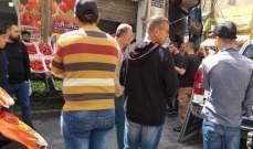 النشرة: بلدية صيدا تعمل على ازالة عدد من المخالفات في اسواق صيدا التجارية