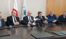 فنيانوس أعلن عن خطة وطنية لتنظيم النقل البري ووضعها على أول جلسة للحكومة